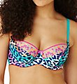Cleo by Panache Maya Animal Print Balconnet Bra 7471