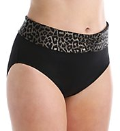 Elomi Wild Thing Fold Brief Swim Bottom ES7424