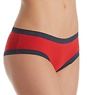 Tommy Hilfiger Cotton Cheeky Panty with Lace - 2 Pack R82T001