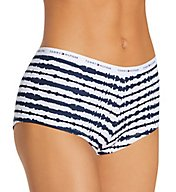 Tommy Hilfiger Classic Cotton Logo Boyshort Panty - 3 Pack R91T004